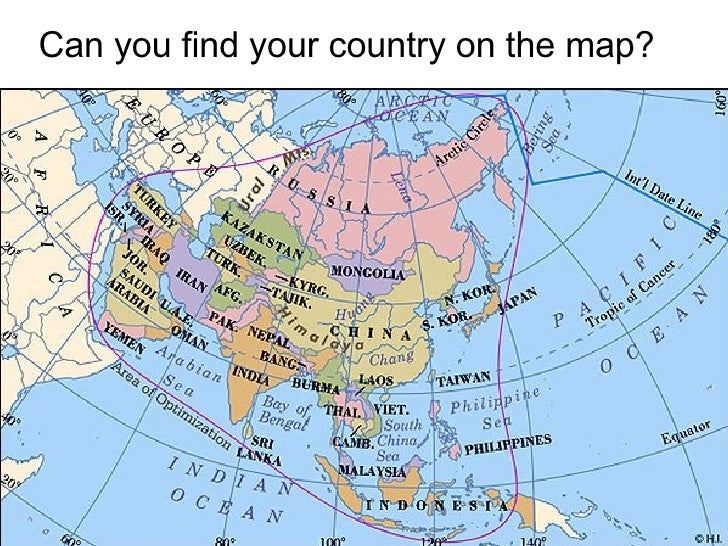 Can you find your country on the map?