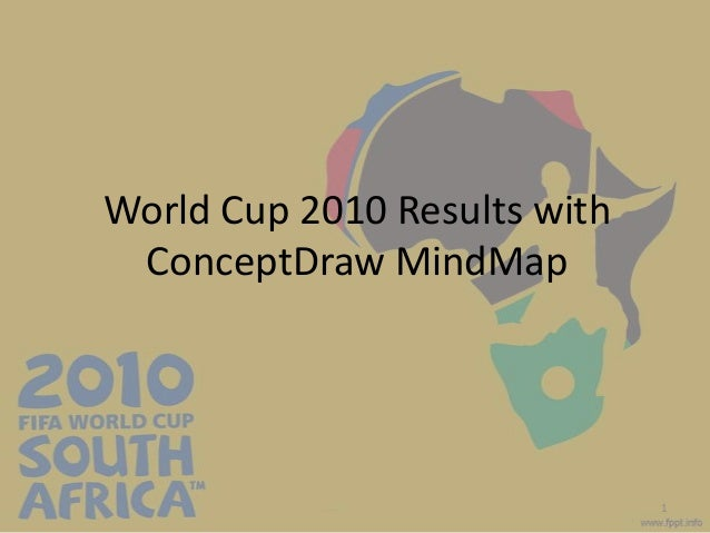 World Cup 2010 Results withConceptDraw MindMap1