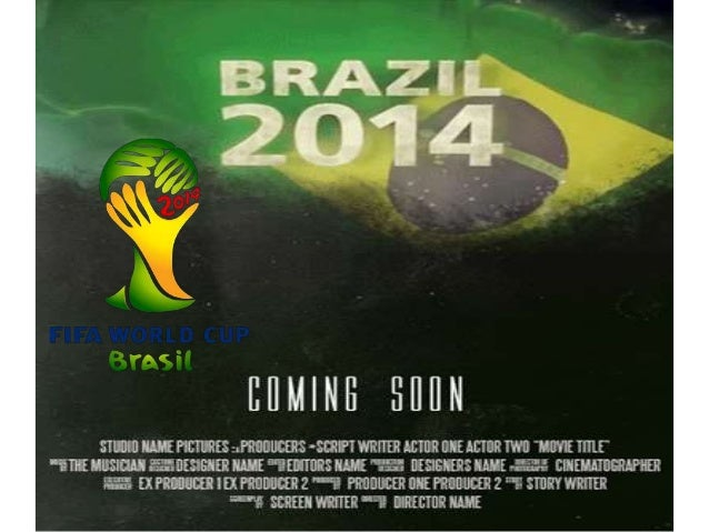 The 2014 FIFA World Cup will be the 20th FIFA World Cup, an international men's football tournament
