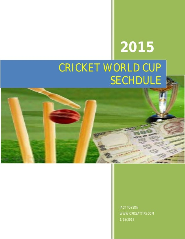 CWC 2011 Group B Win Odds - Click to Bet
