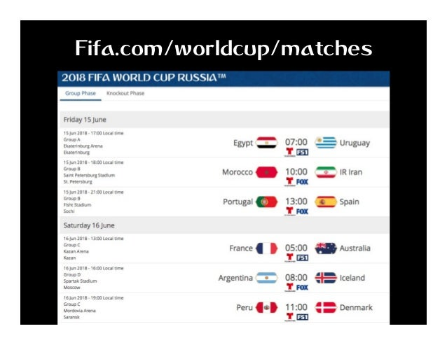 Fifa.com/worldcup/matches