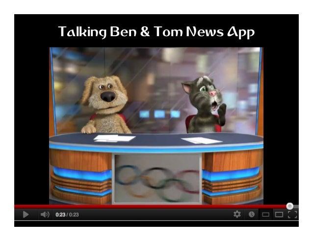 Talking Ben & Tom News App