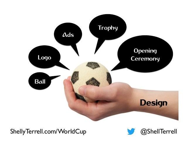 Logo Opening Ceremony Ball Ads Design Trophy @ShellTerrellShellyTerrell.com/WorldCup