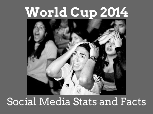 World Cup 2014 Social Media Stats and Facts