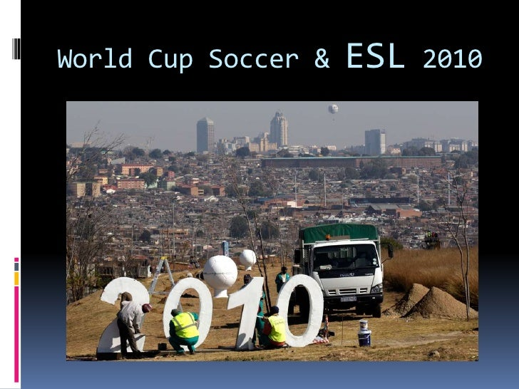2010 soccer world cup As the 2010 fifa world cup approaches, attention is increasingly focussed on one of the most pervasive crimes expected to accompany the.