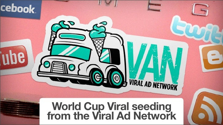 World Cup Viral seeding from the Viral Ad Network