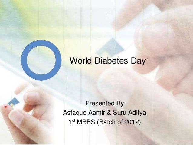 World diabetes day Slide 2