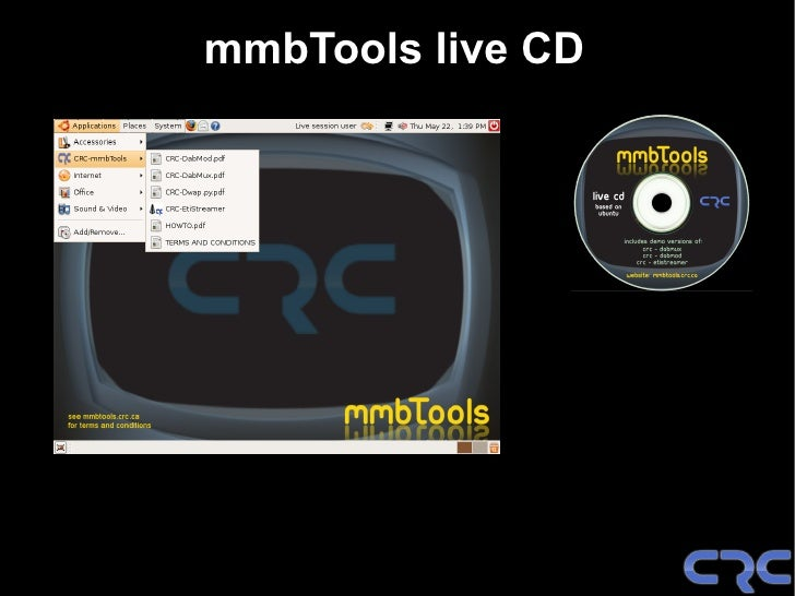 Announcement !         CRC-DABMOD        Released today as  GPL Open Source Software Download at: mmbtools.crc.ca