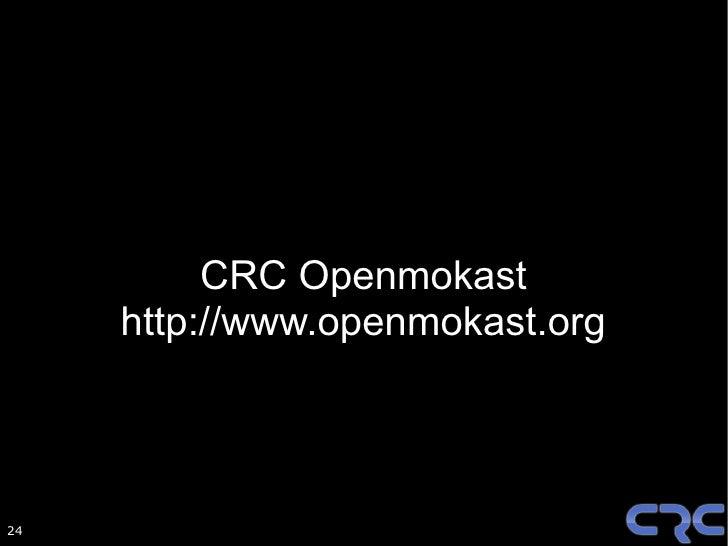 Openmokast Stack
