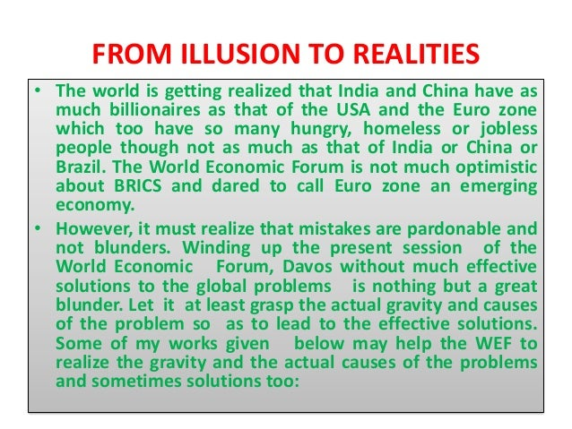 illusion versus reality essay English composition 1 sample eng 1001 essay on  a series of events leads to miss brill's illusion being  although miss brill's attempts to skew reality.
