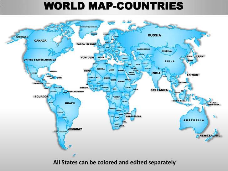 editable world map online