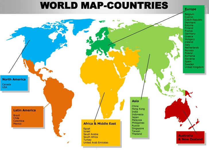 ... Edited Separately; 4. WORLD MAP COUNTRIES ...