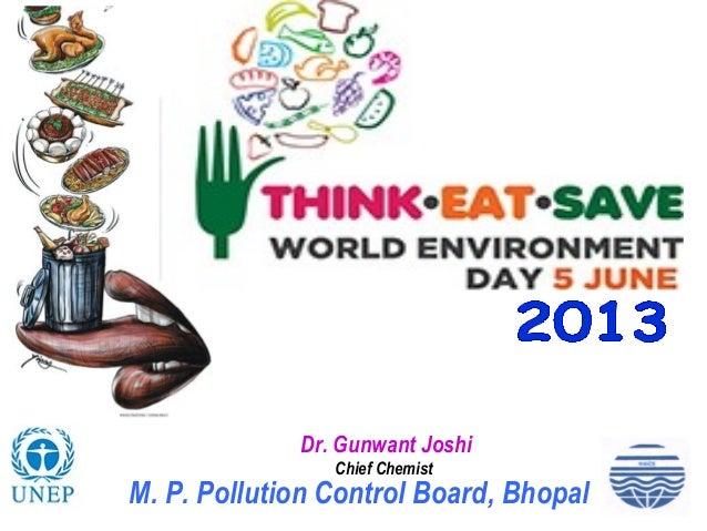 Dr. Gunwant JoshiChief ChemistM. P. Pollution Control Board, Bhopal