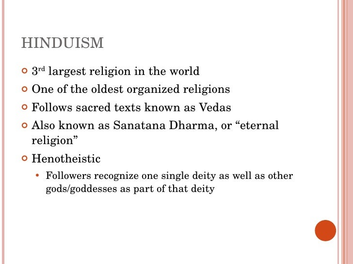 The Impacts Of Hinduism In India - 3 largest religions