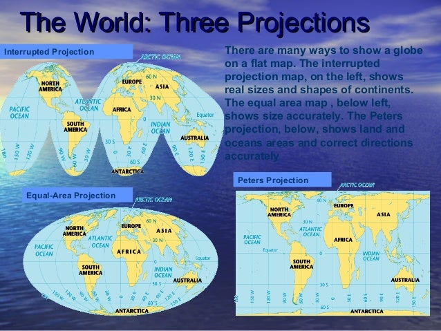 World geography intro powerpoint map the world mercator projection 22 gumiabroncs Gallery