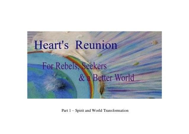 Part 1 – Spirit and World Transformation