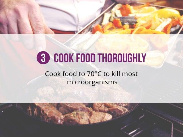 3CookFoodThoroughly Cookfoodto70°Ctokillmost microorganisms