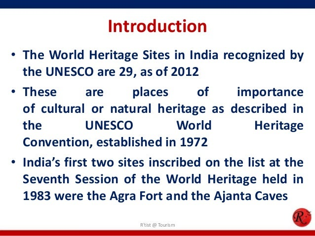 the effect of world heritage site Benefits and impact increased tourism many travelers in many countries use the unesco world heritage list as their primary vacation planning strategy.