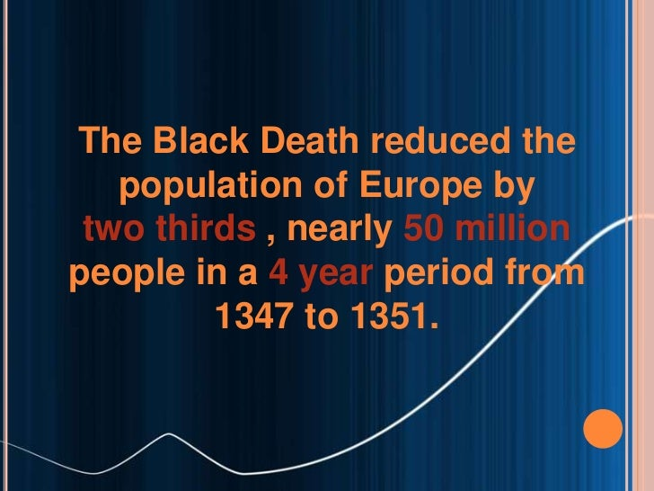 an introduction to the history of the black death Synopsis a series of natural disasters in the orient during the 14th century  caused the most devastating period of death and destruction in european history.