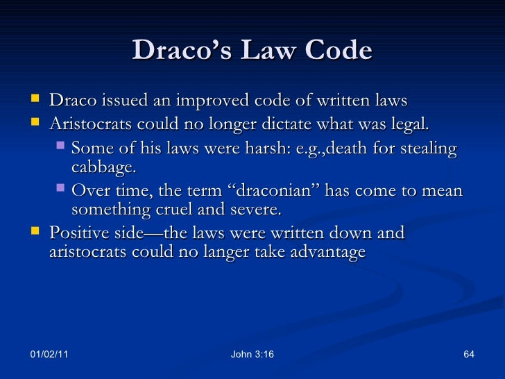 law codes of ancient times