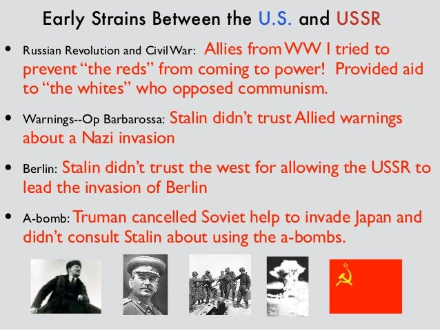 an introduction to the history of the cold war and communism 5 reagan and gorbachev and the end of the cold war 6 the fall of communism 7    17 moments in soviet history.
