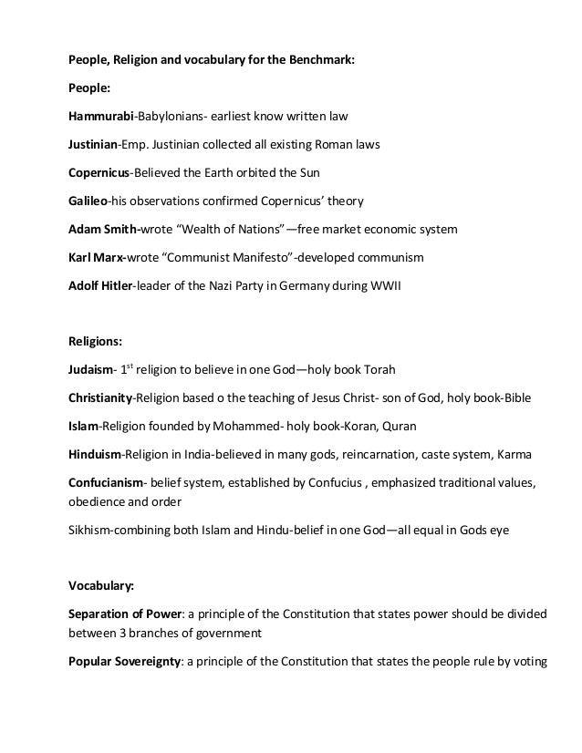 world history reviewer World history ii sol review: sol preparation materials including people, topics, conflicts includes answers and a review packet with questions.