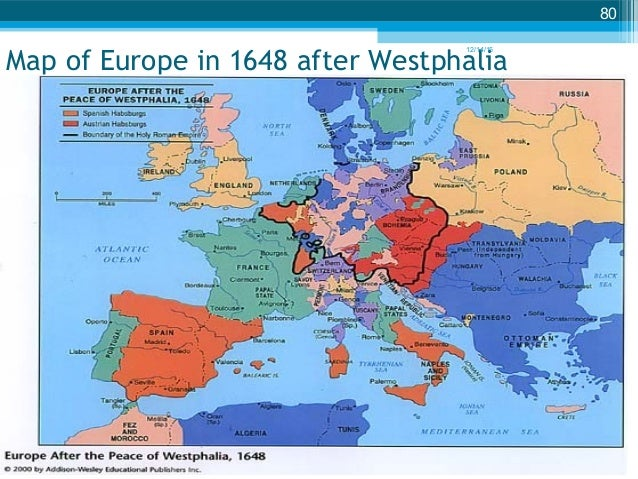 map of europe in 1648 after westphalia 121415 80