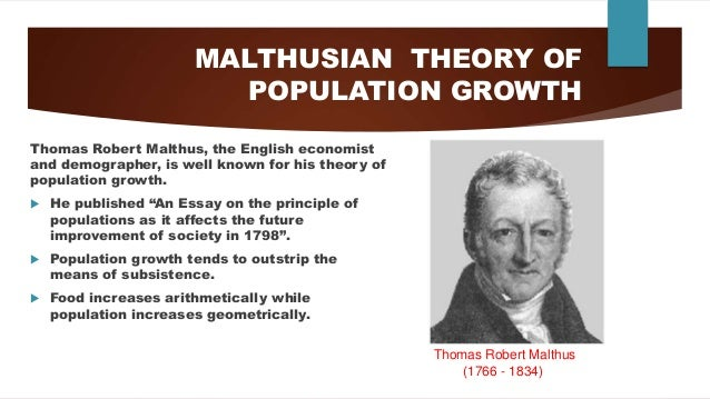 world human population growth through history 11 malthusian theory of population