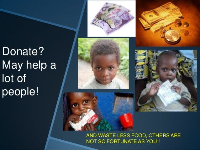 Say 'NO' to HUNGER!
