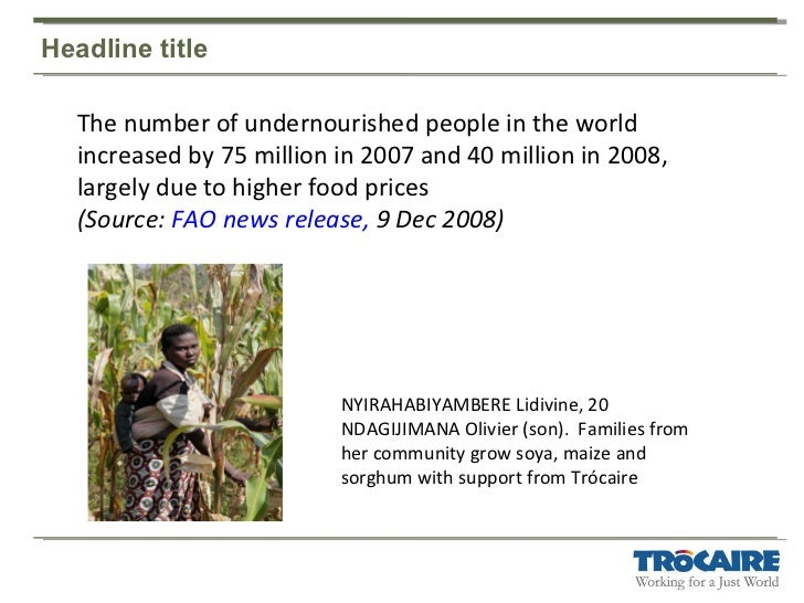 World hunger facts