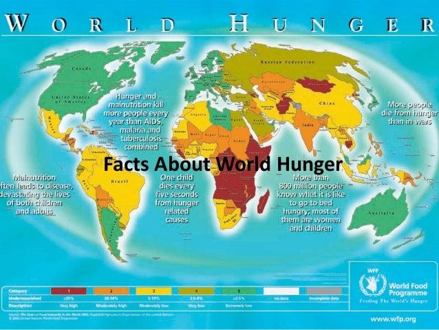 World hunger speech