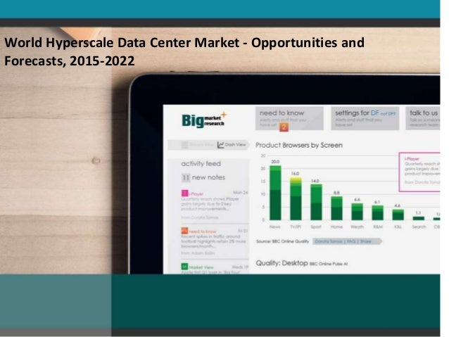 World Hyperscale Data Center Market - Opportunities and Forecasts, 2015-2022