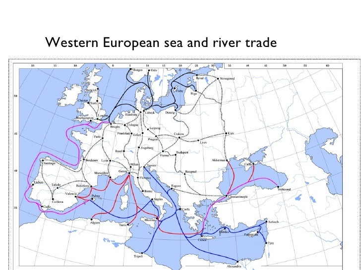 Image result for northern european trade routes
