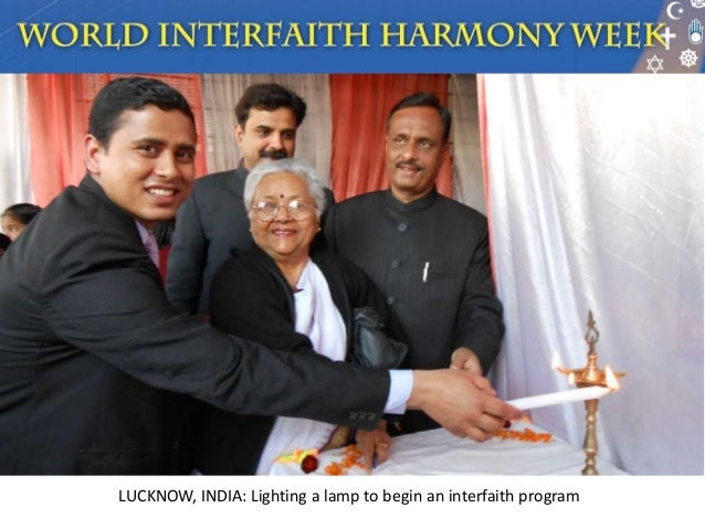 Interfaith harmony essay about myself