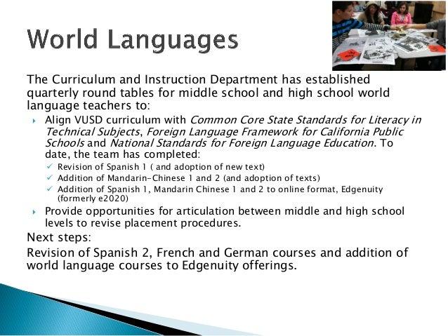 World languages and vapa update 3 6 2013rv Slide 2