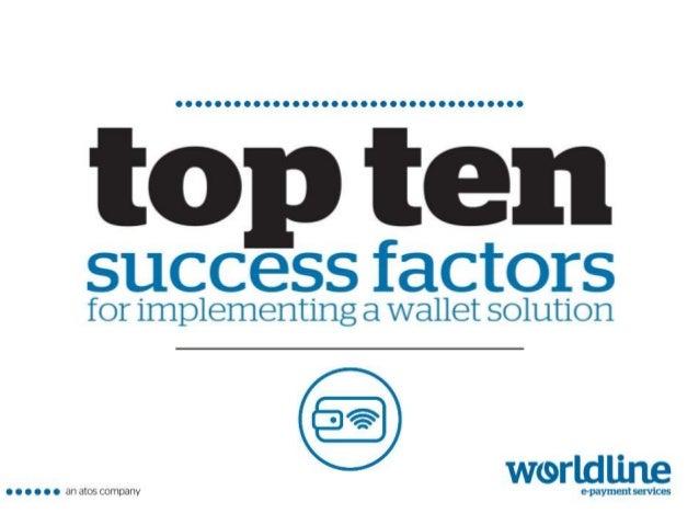 | 09/03/20152 Worldline Wallet