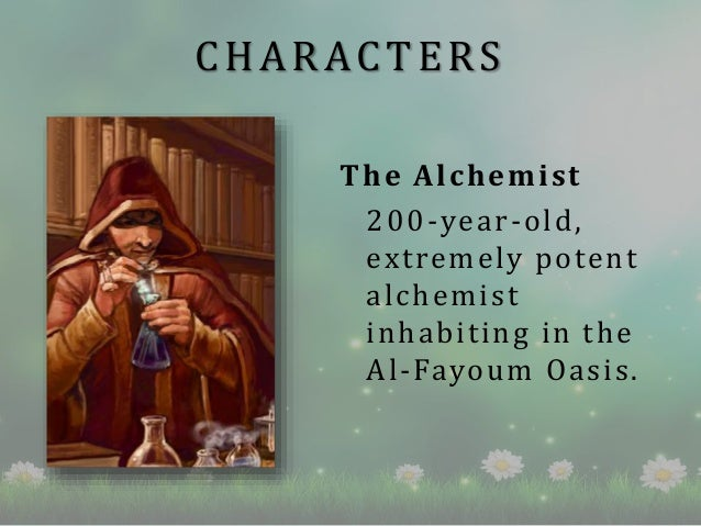 the alchemist book review  characters the alchemist