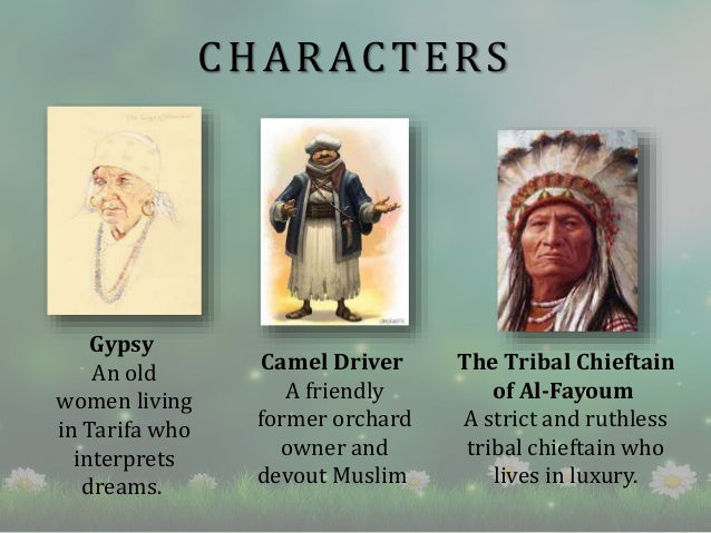 the alchemist book review  characters