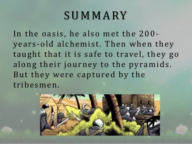 the alchemist book review  summary in the