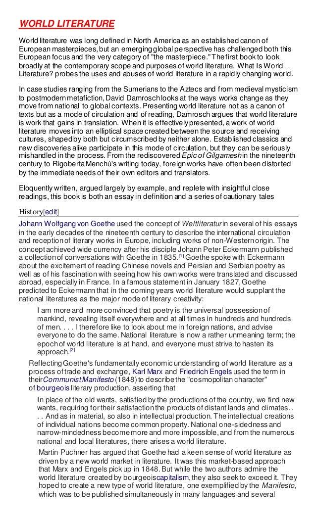 World lit 1 essay example dissertation proposal ghostwriter site gb