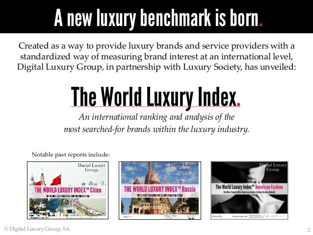 ... WORLD LUXURY INDEX™ BrazilTOP 50 MOST SEARCHED FOR LUXURY BRANDS IN  BRAZIL  2. 0edb50cba9