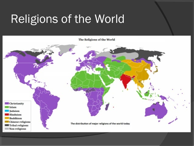 World Major Religion - The main religions