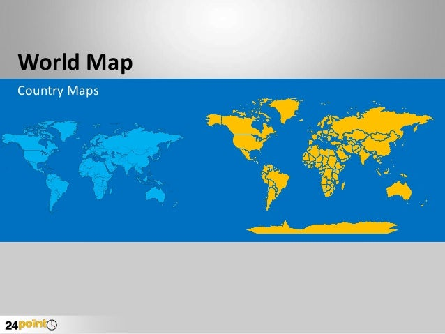 Editable world map powerpoint world map country maps gumiabroncs Images