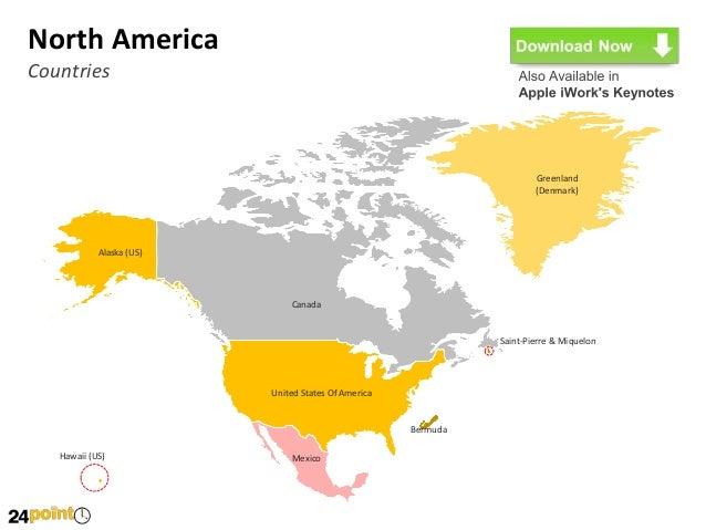 Editable World Map PowerPoint