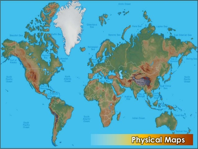 The Map, Map Reading and Principles of Geography - World Tourism