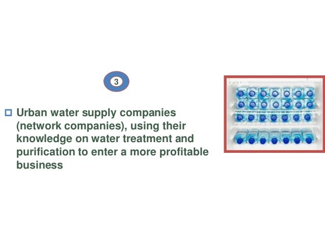 five forces on the bottled water industry Free essay: review on myanmar bottled water industry with porter's five forces review on myanmar bottled water industry with porter's five forces.