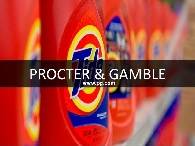 PROCTER & GAMBLEwww.pg.com