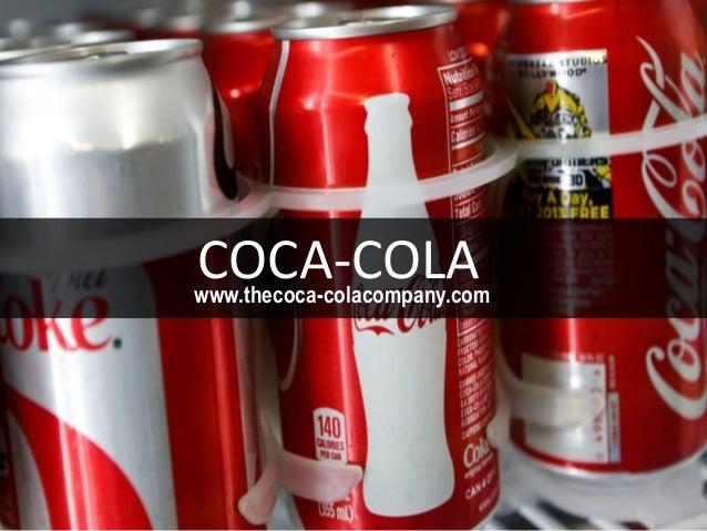 www.thecoca-colacompany.com COCA-COLA