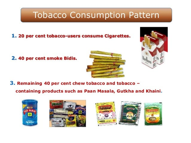 'Say No to Tobacco' WHO WNTD 31st May Slide 3