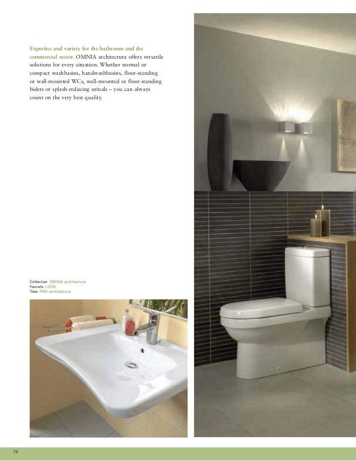 OMNIA ARCHITECTURA Casual 71. World of bathrooms 2010   Villeroy   Boch   H ng Hi n Luxury Co   Ltd